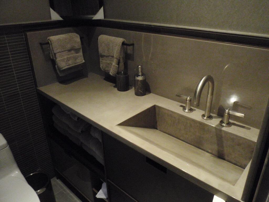 rustic kitchen sinks trash bags custom sink portfolio - brooks