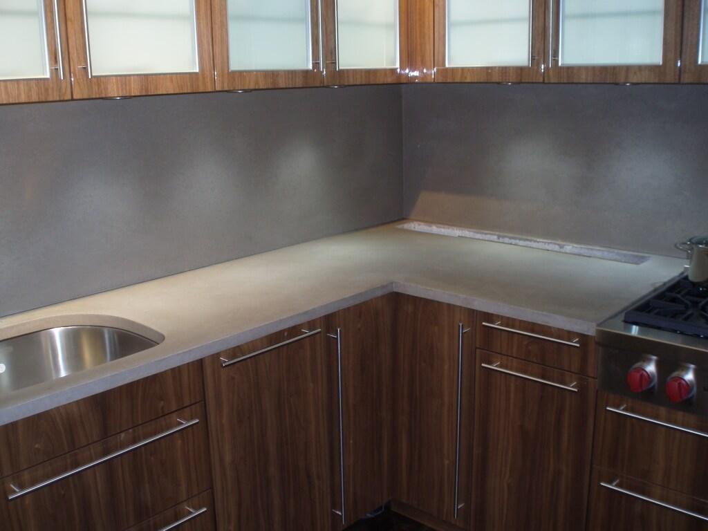 glass tile kitchen countertop hood installation backsplashes & wall panels - brooks custom