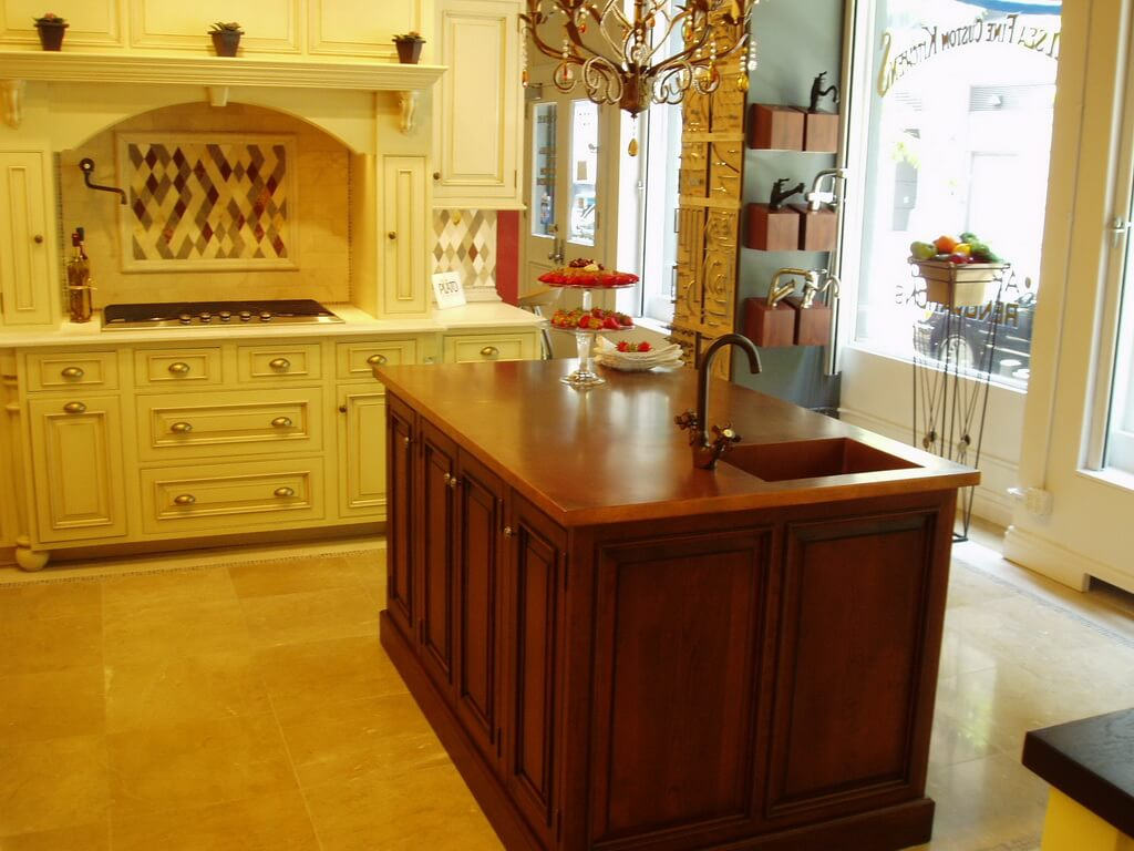 country kitchen range hoods themed decor copper countertops - brooks custom