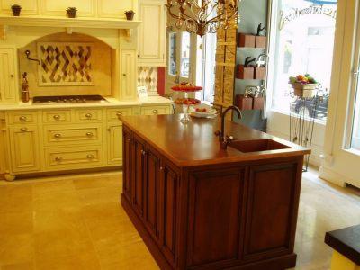 Copper Countertops - Brooks Custom
