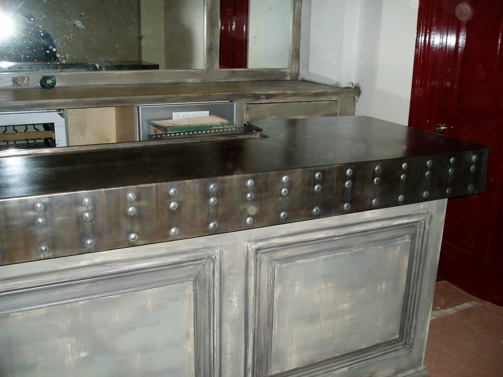inexpensive countertops for kitchens kitchen furniture set 1000+ images about zinc on pinterest