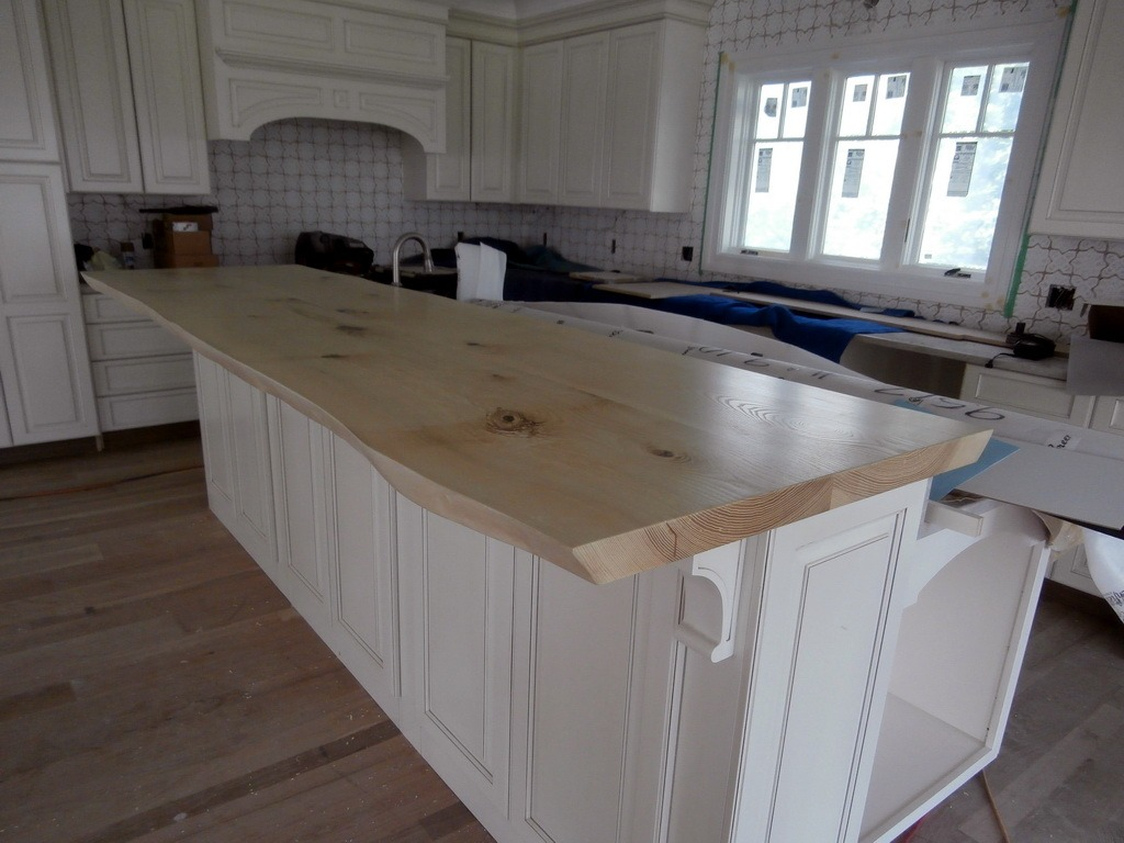 Table Kitchen Wood Grey