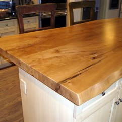 Maple Countertops Kitchen Moen Sinks Live Edge Wood Gallery Brooks Custom
