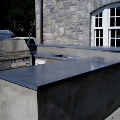 Outdoor Kitchen Cabinets Polymer L Type Small Design Engineered Concrete Products - Brooks Custom