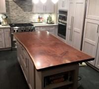 Live Edge Wood Countertops - Brooks Custom