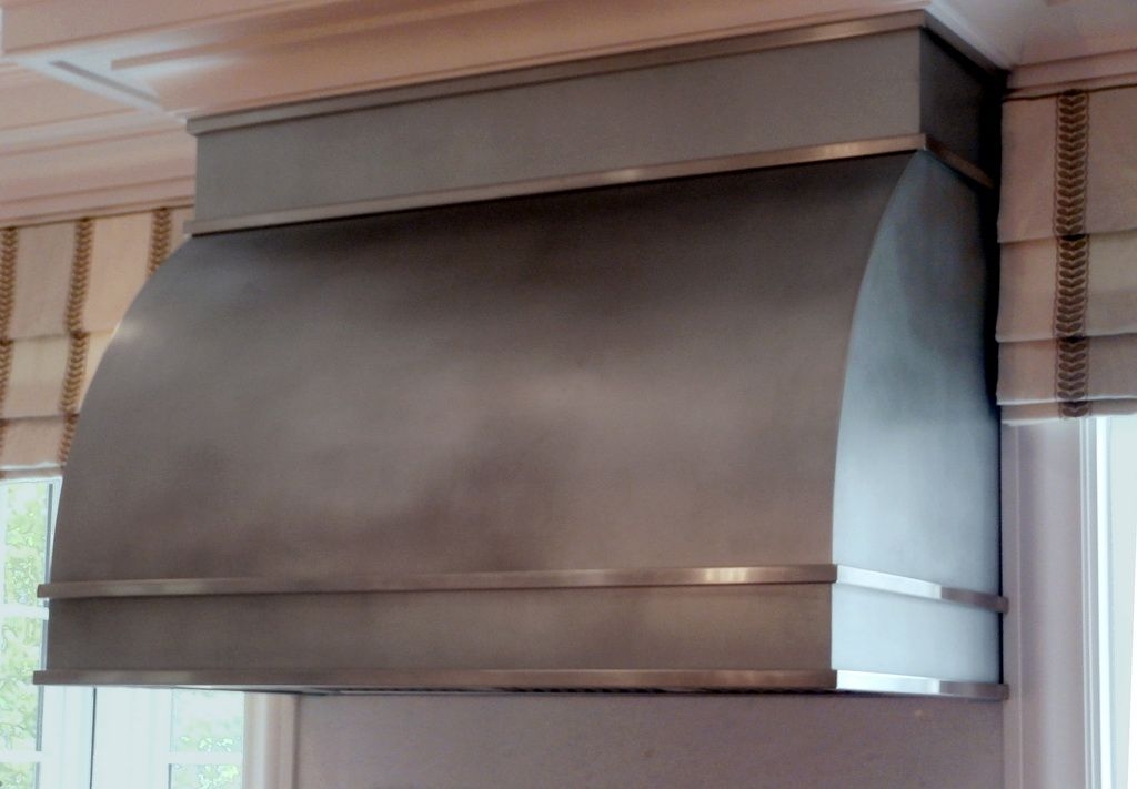 concrete countertops kitchen aid beater metal range hoods - brooks custom