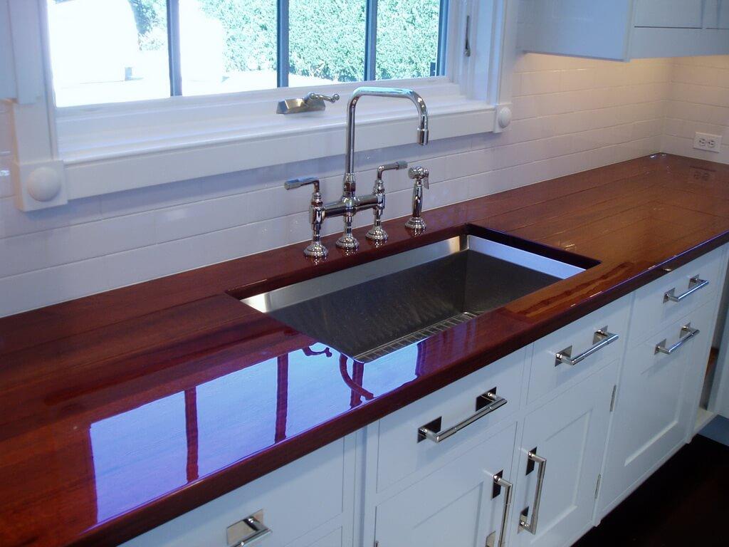 Wood Countertop Finish Options Brooks Custom