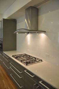 Backpainted Glass Wall Panels - Brooks Custom