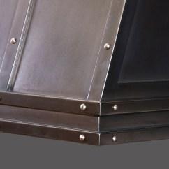 Kitchen Vent Hood Rear Travel Trailers Artisan Cast Range Hoods - Brooks Custom