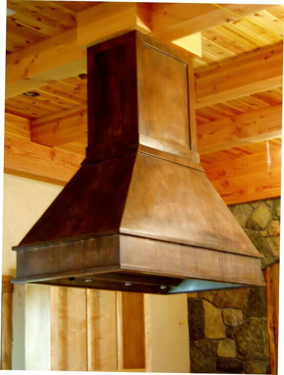 countertops kitchen cream colored appliances copper countertops, hoods, sinks, ranges, panels by brooks ...