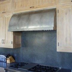 Quiet Kitchen Hood Utility Knife Zinc Range Gallery - Brooks Custom