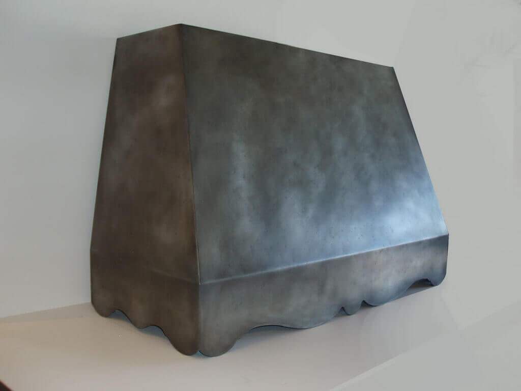 Zinc Range Hood Gallery  Brooks Custom