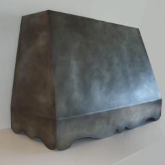 Quiet Kitchen Hood Cabinet Latches Zinc Range Gallery - Brooks Custom