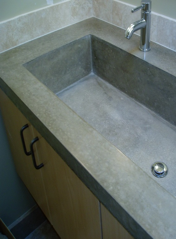 prep tables for kitchen sink light fixtures brooks custom | hand-crafted countertops ...