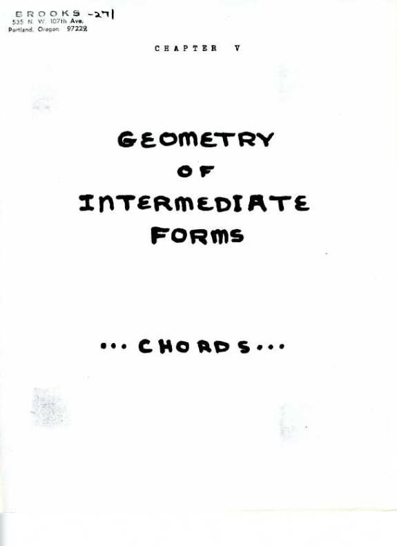 LUFE: The Geometry of Intermediate Forms