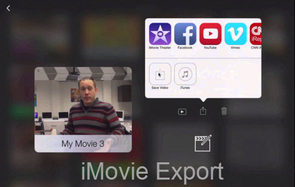 How to Export iMovie Projects with Different Options