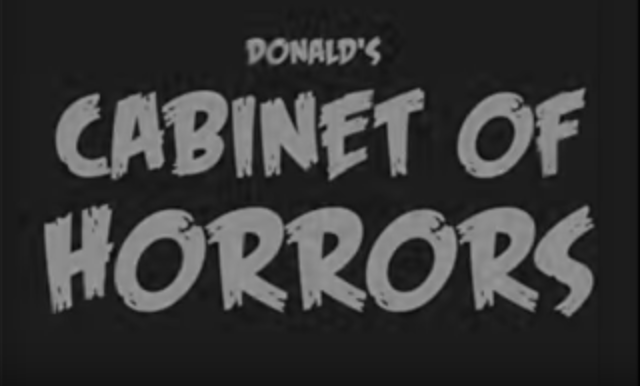 "Bros4America presents ""Donald's Cabinet of Horrors, Vol. 1 - The Bannon"""