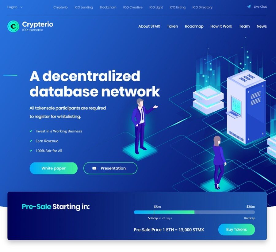 Crypterio WordPress Premium Theme