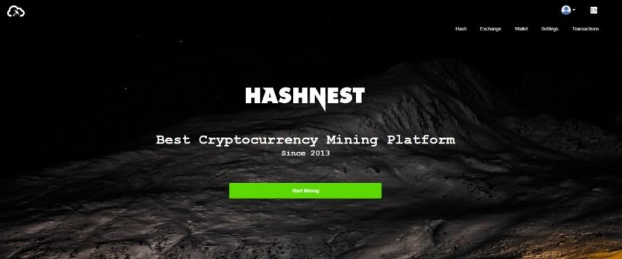 Hashnest Cloud Mining