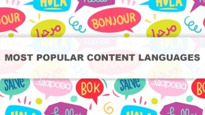 Most Popular Content Languages For Your Website