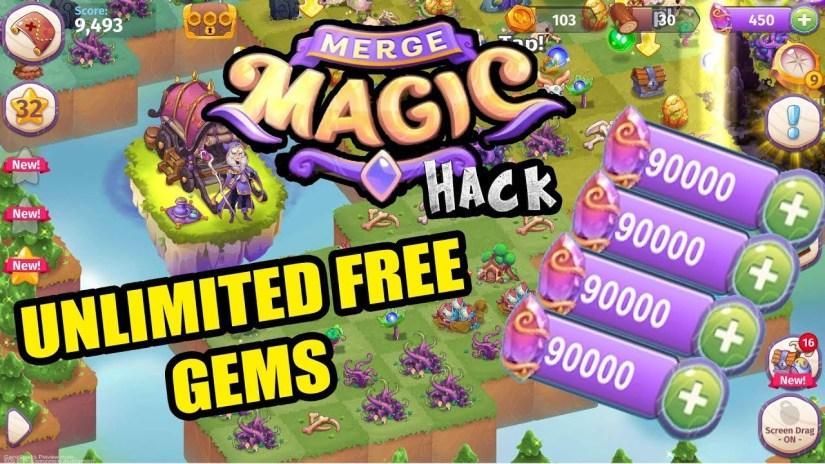 merge magic hack