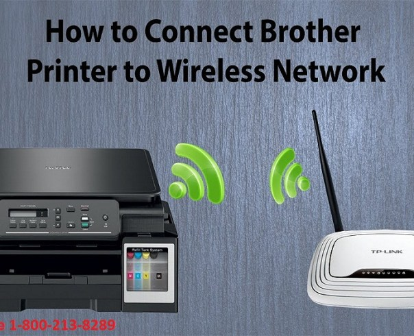 Connect Brother Printer On Wireless Network