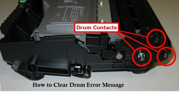 Clear Drum Error Message