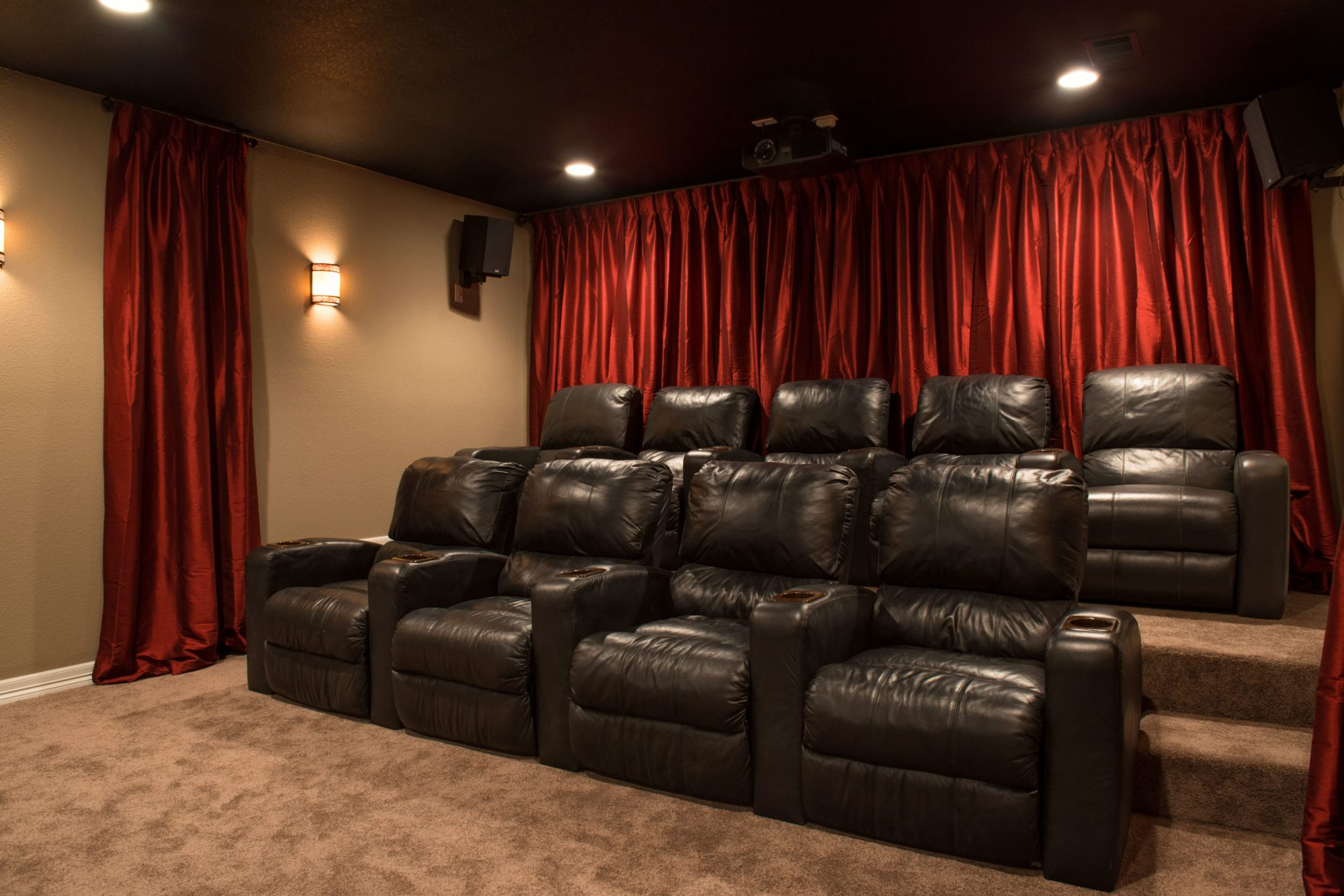 hight resolution of questions you need to answer before design a basement theater