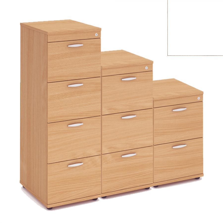 Vantage WHITE Filing Cabinet