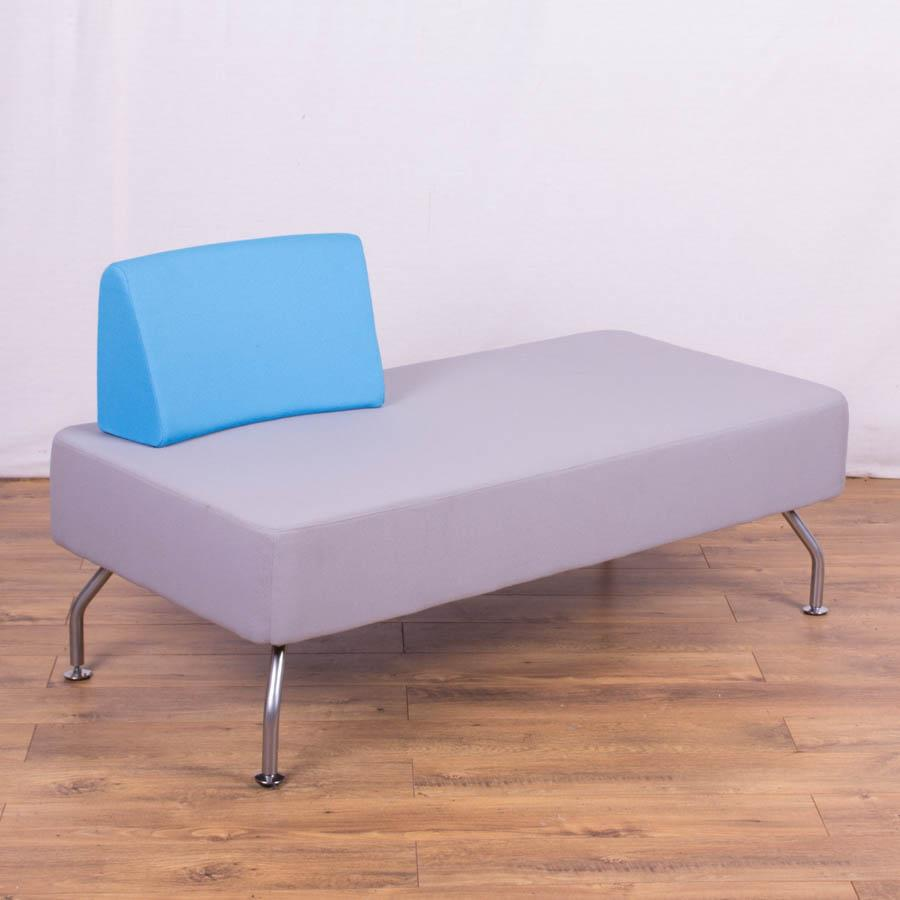 leather sofa cleaning products reviews replacement back pillows light grey/blue reception