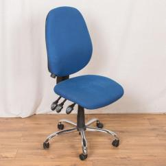 Blue Office Chair Walmart Fold Up Chairs No Arms Spark Ergo Seat High Back Usay