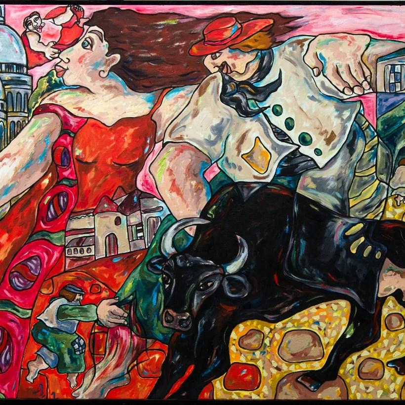 peinture-corrida
