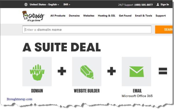 Inexpensive-Domain-name-Godaddy