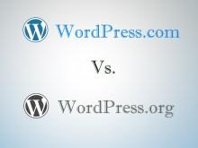 wordpress.org vs wordpress.com seo