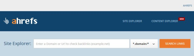 ahrefs to check backlinks with anchor text