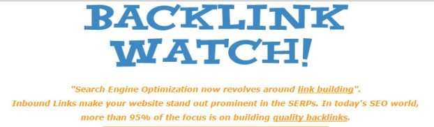 backlink watch backlink checker tool