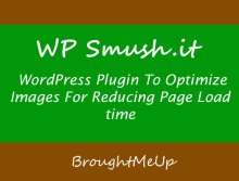 wp smush.it wordpress plugin to optimize images