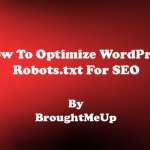 How To Optimize WordPress Robots.txt File For SEO
