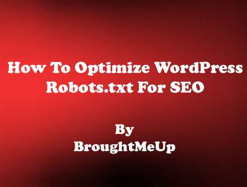 optimize wordpress robots.txt for seo