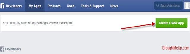 Create App In Facebook