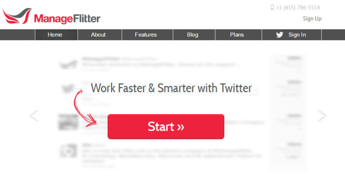 Manageflitter twitter tool to unfollow non followers