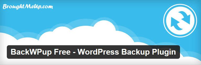 backup-free WordPress backup plugin