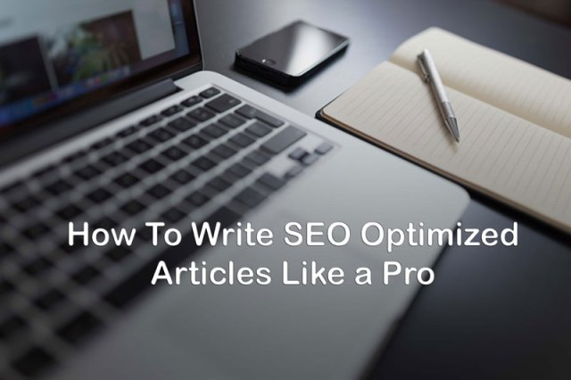 SEO optimized articles