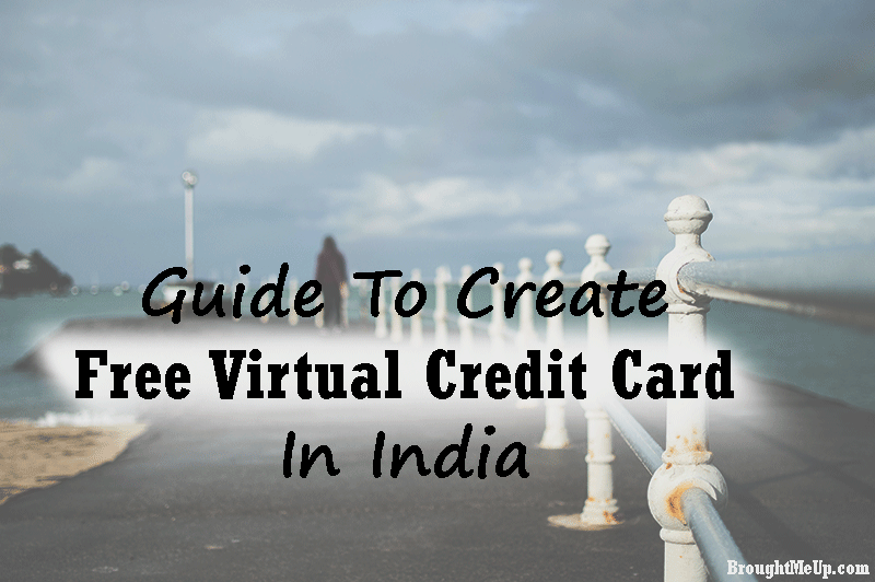 virtual credit card india