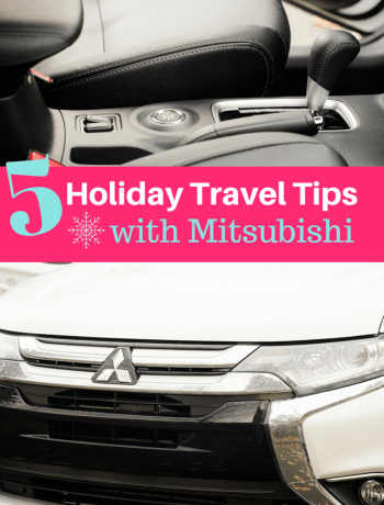 5 Travel Tips for the Holiday with more on the 2016 Mitsubishi Outlander SEL S-AWC