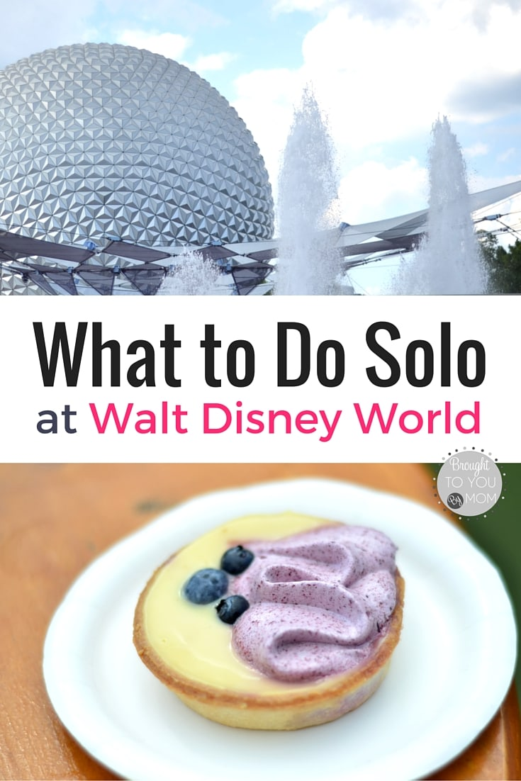 What to Do Solo at Walt Disney World. Heading to Disney alone soon? Here are some tips and ideas what to do that you can't in a group.