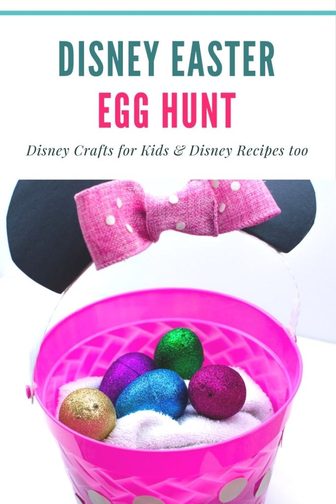 See how we created a Disney Easter egg hunt alongside our Disney themed party. Disney craft ideas for kids and Disney recipes.