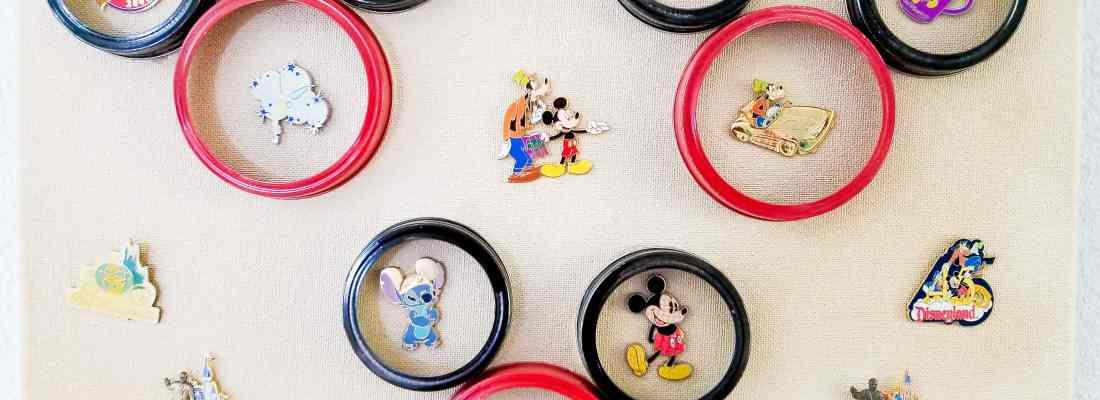DIY Disney Pin Board