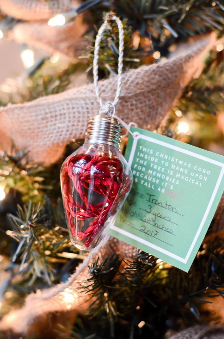 homemade christmas tree ornaments for kids