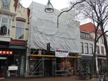 Gevel Onderhoud Diezerstraat Zwolle - Brouwer Schilders Dalfsen